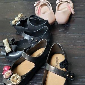 Mini Melissa utragirl Shoes Bundle